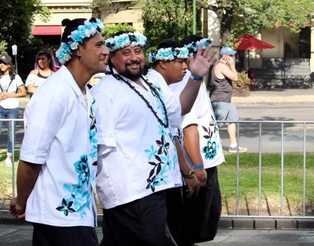 """March 2017. As part of the """"Spirit of Polynesia"""" @ Moomba Festival Parade, City of Melbourne."""