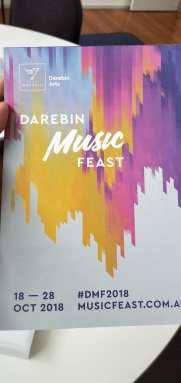Darebin Arts Festival 2018