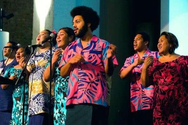 Pasefika Vitoria Choir performing at the Multicultural Arts Victoria 2018 Fundraising Gala at St Kilda Town Hall (November 10th 2018)